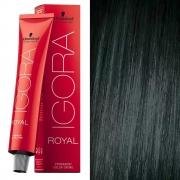 Coloração Igora Royal 3-0 Castanho Escuro Natural - Schwarzkopf
