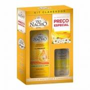 Kit Clareador Shampoo 415ml + Condicionador 200ml - Tio Nacho