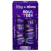 kit shampoo + condicionador soul teen vitay novex