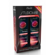 KIT SHAMPOO CONDICIONADOR  STUDIO HAIR HIDRATACAO 250ML