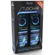 Kit Shampoo e Condicionador Studio Hair Restauração e Maciez 250ml - Muriel