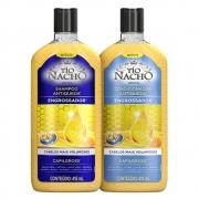 Kit Shampoo Engrossador 415ml + Condicionador 200ml - Tio Nacho