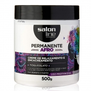 Relaxamento Permanente Afro CR 500gr - Salon Line