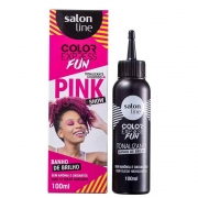 Tonalizante Color Express Fun Pink Show 100ml - Salon Line