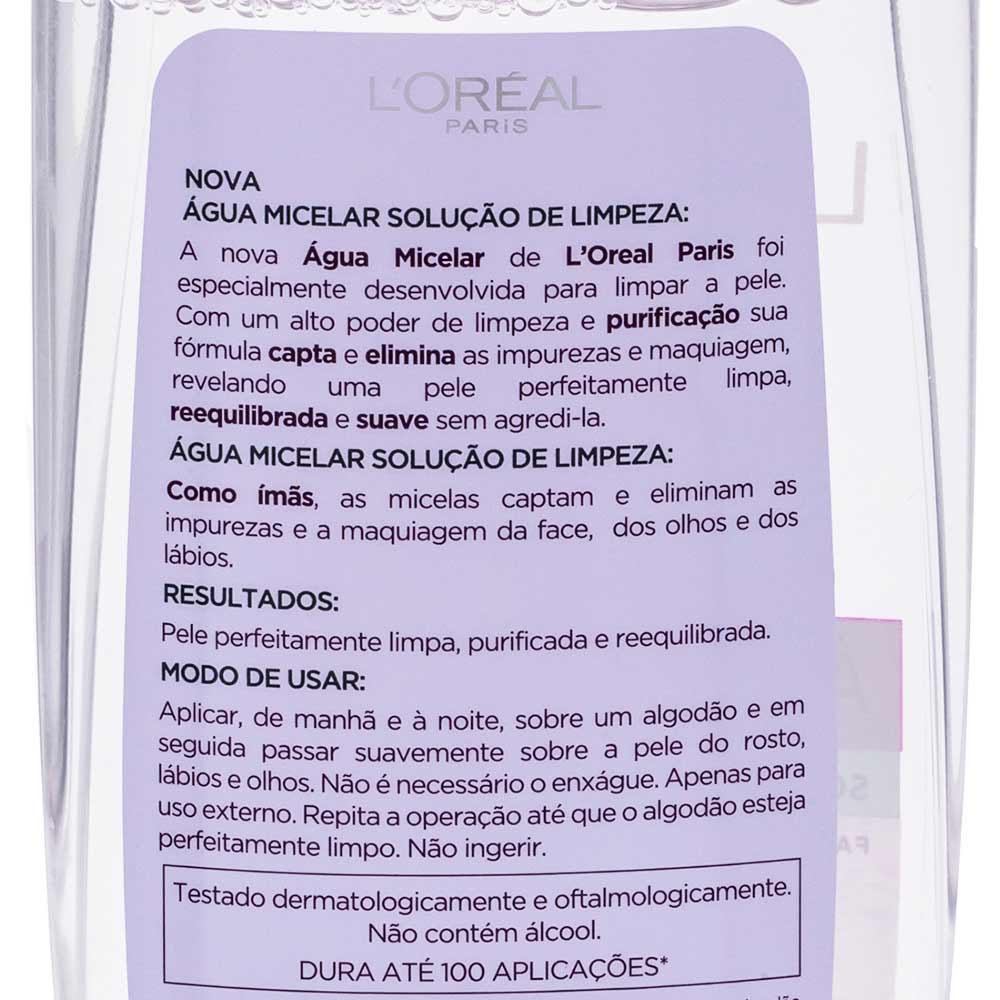 Agua Micelar 200ml - Loreal