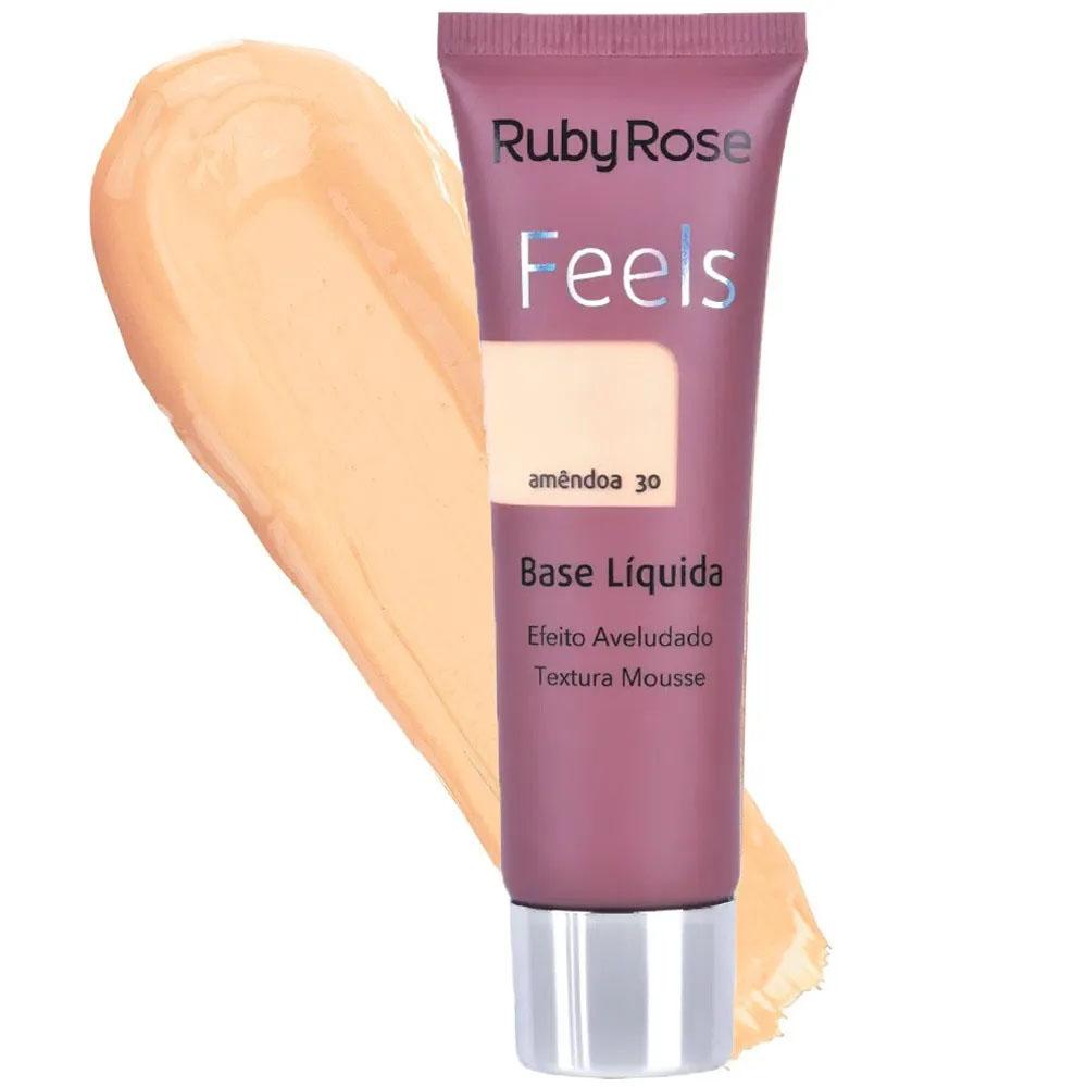 Base Feels Amêndoa 30 - Ruby Rose