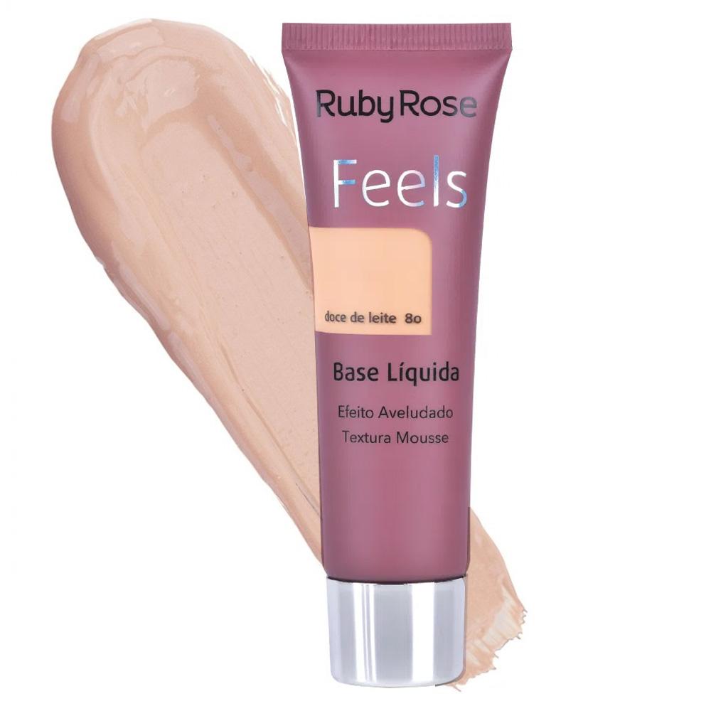 Base Feels Doce De Leite 80 - Ruby Rose