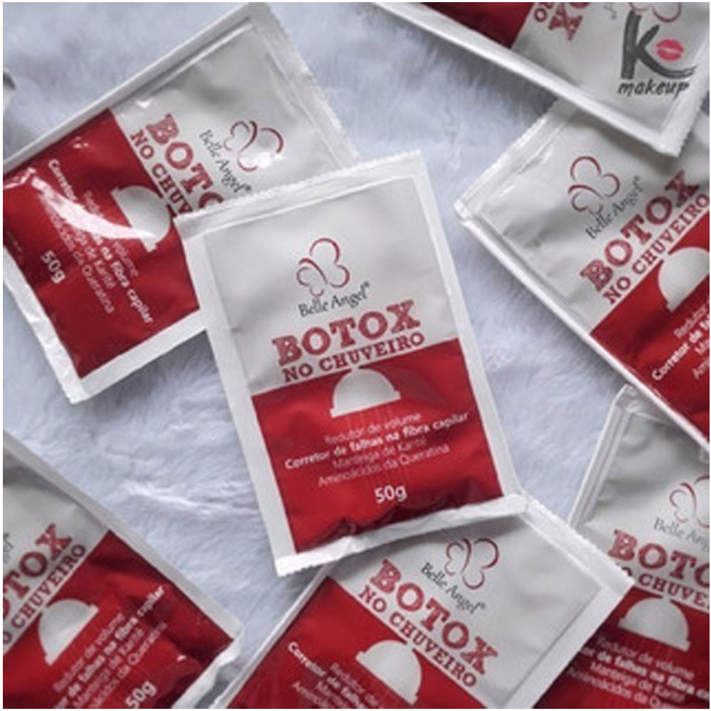 Botox de Chuveiro Sache 50g Box com 18 uni - Bella Angel