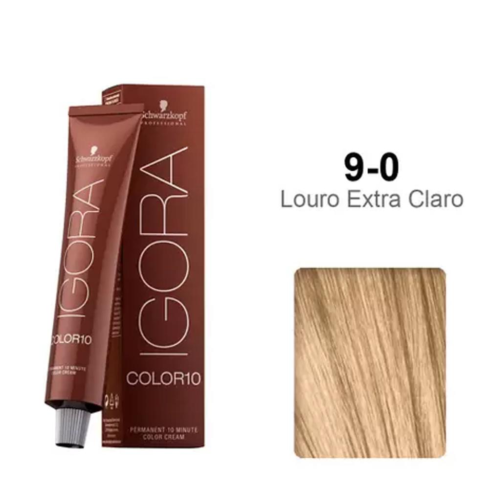 Coloração Igora Color 10 Minutos 9-0 Louro Extra Claro - Schwarzkopf