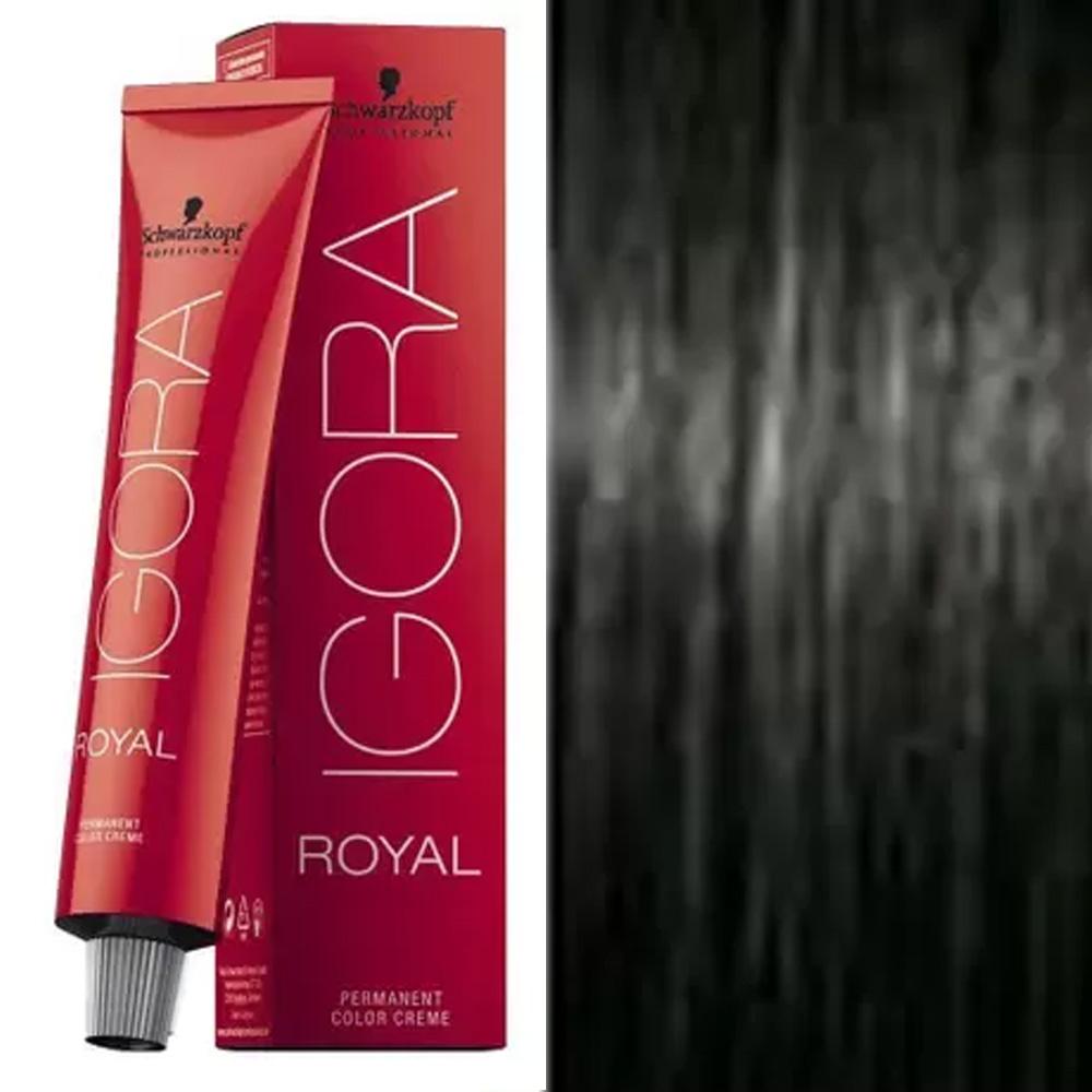 Coloração Igora Royal 1-0 Preto Natural - Schwarzkopf