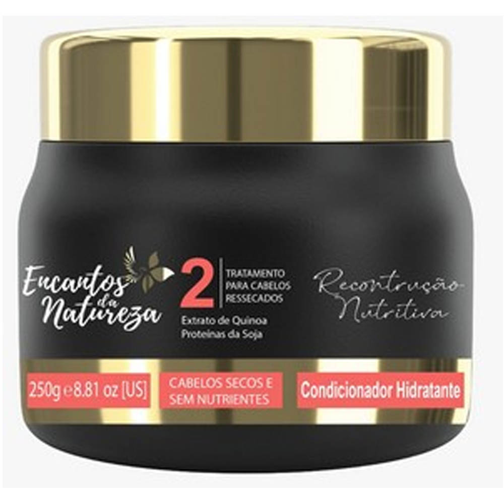 Condicionador Hidratante e Reconstrução Nutritiva 250ml - Encantos da Natureza