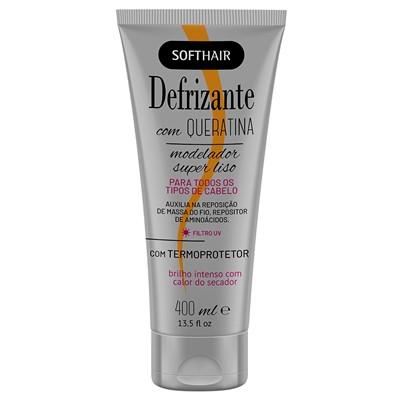 Defrizante  Com Queratina Softhair 400 ml