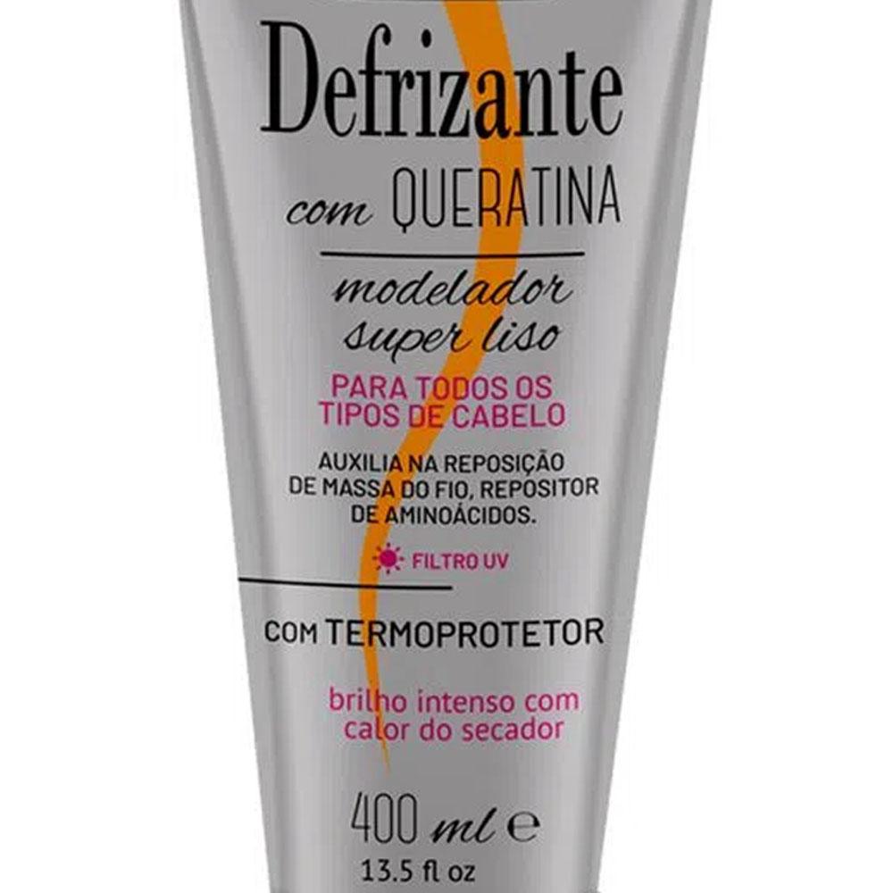 Desfrizante com Queratina 400ml - Softhair
