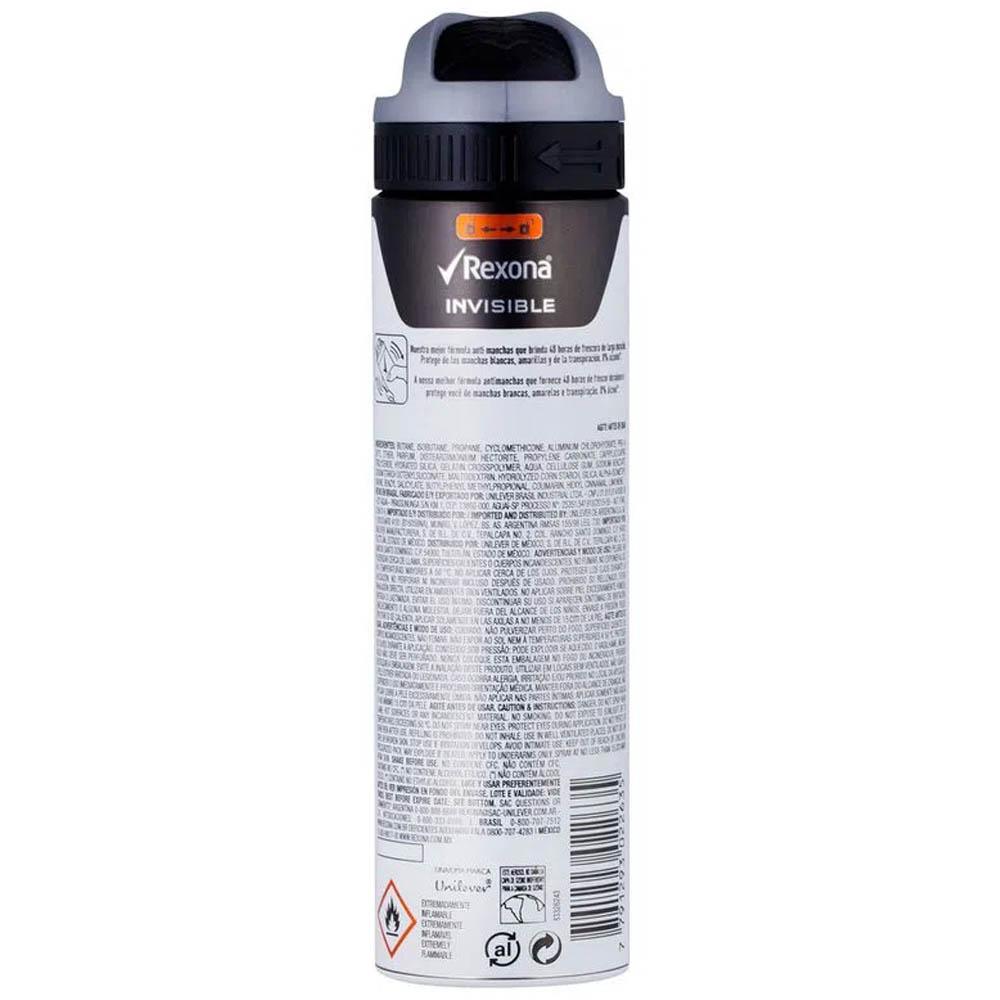 Desodorante Aero Men Invisible 90gr - Rexona