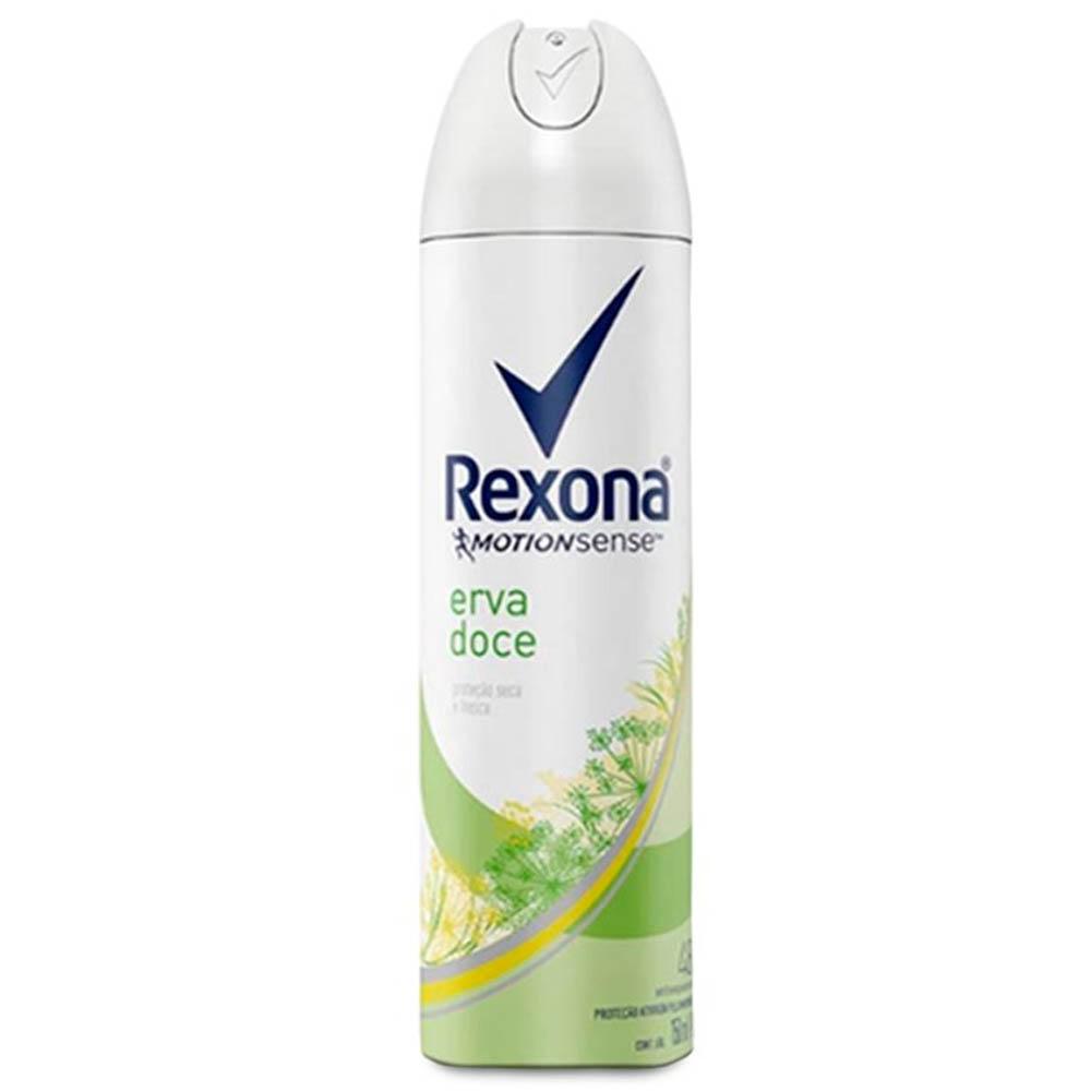 Desodorante Feminino Aero Erva Doce 90gr- Rexona