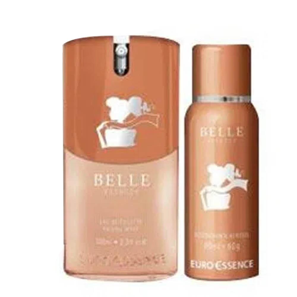 Euroessence Belle Special Colônia 100ml + Desodorante 80ml - Eurossence