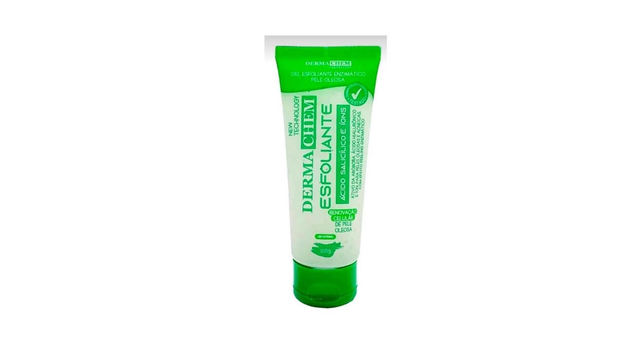 Gel Esfoliante Ácido Salicílico Efeito Peeling Dermachem 100 ML