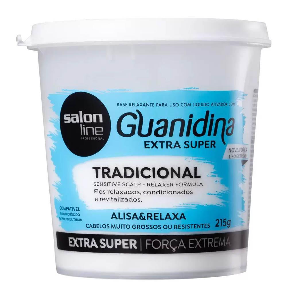 Guanidina Extra Super Tradicional Grossos 215g - Salon Line