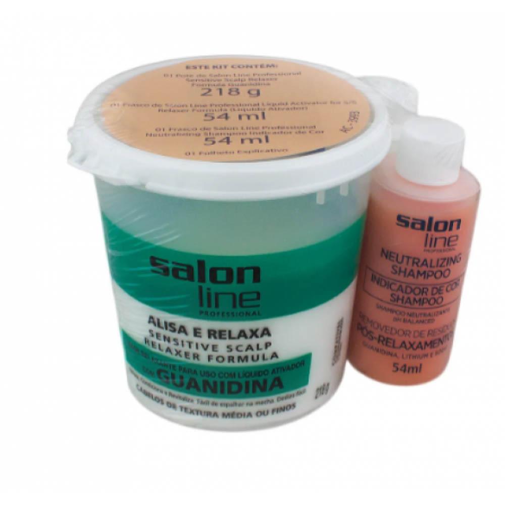 Guanidina Tradicional Regular (A+N) 218gr - Salon Line