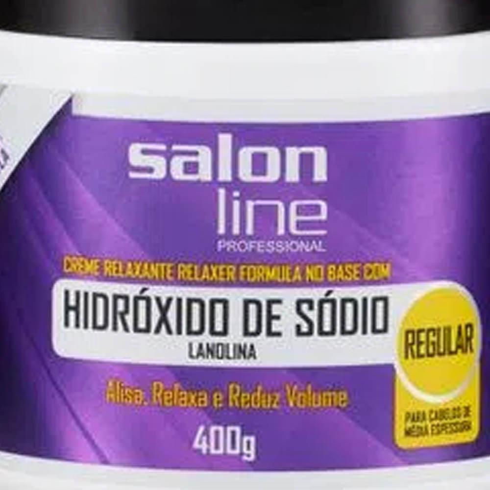 Hidróxido de Sódio Tradicional Regular 400g - Salon Line