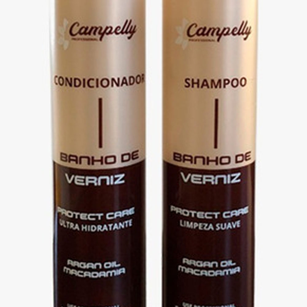 Kit Banho de Verniz 500ml - Campelly