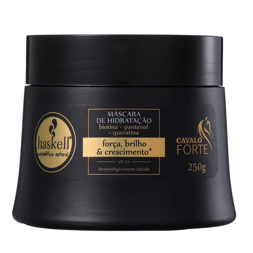 Kit Cavalo Forte Shampoo + Condicionador + Máscara - Haskell