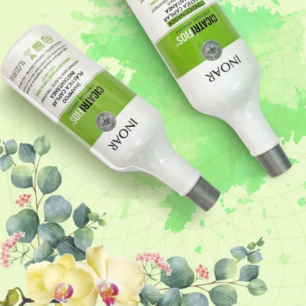 Kit Shampoo e Condicionador Cicatrifios Instantanea 1L - INOAR