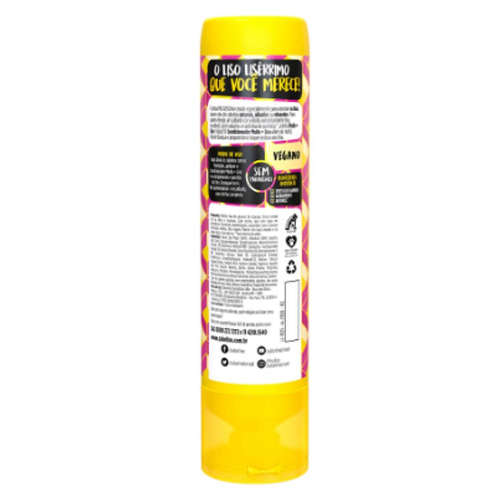 Kit Shampoo e Condicionador Meu Liso + Liso 300ml - Salon Line