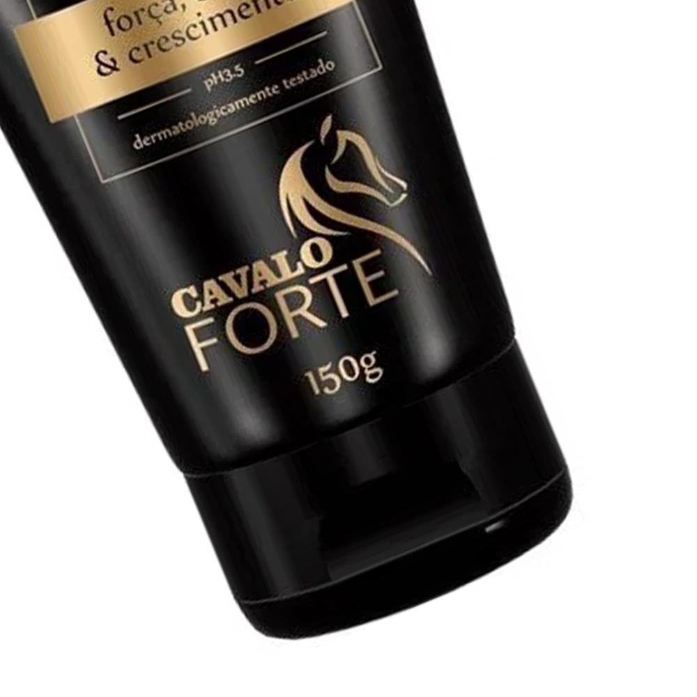 Leave-in Cavalo Forte 150g Proteção Térmica - Haskell