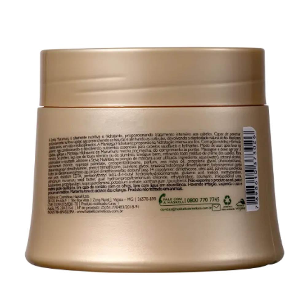 Manteiga Hidratante Murumuru 250g - Haskell