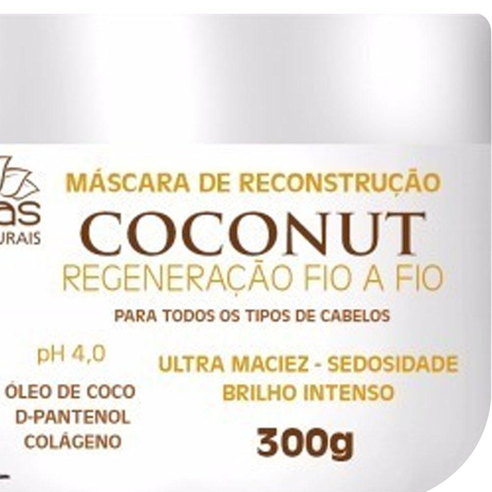 Máscara Coconut 300g - Nutri Minas