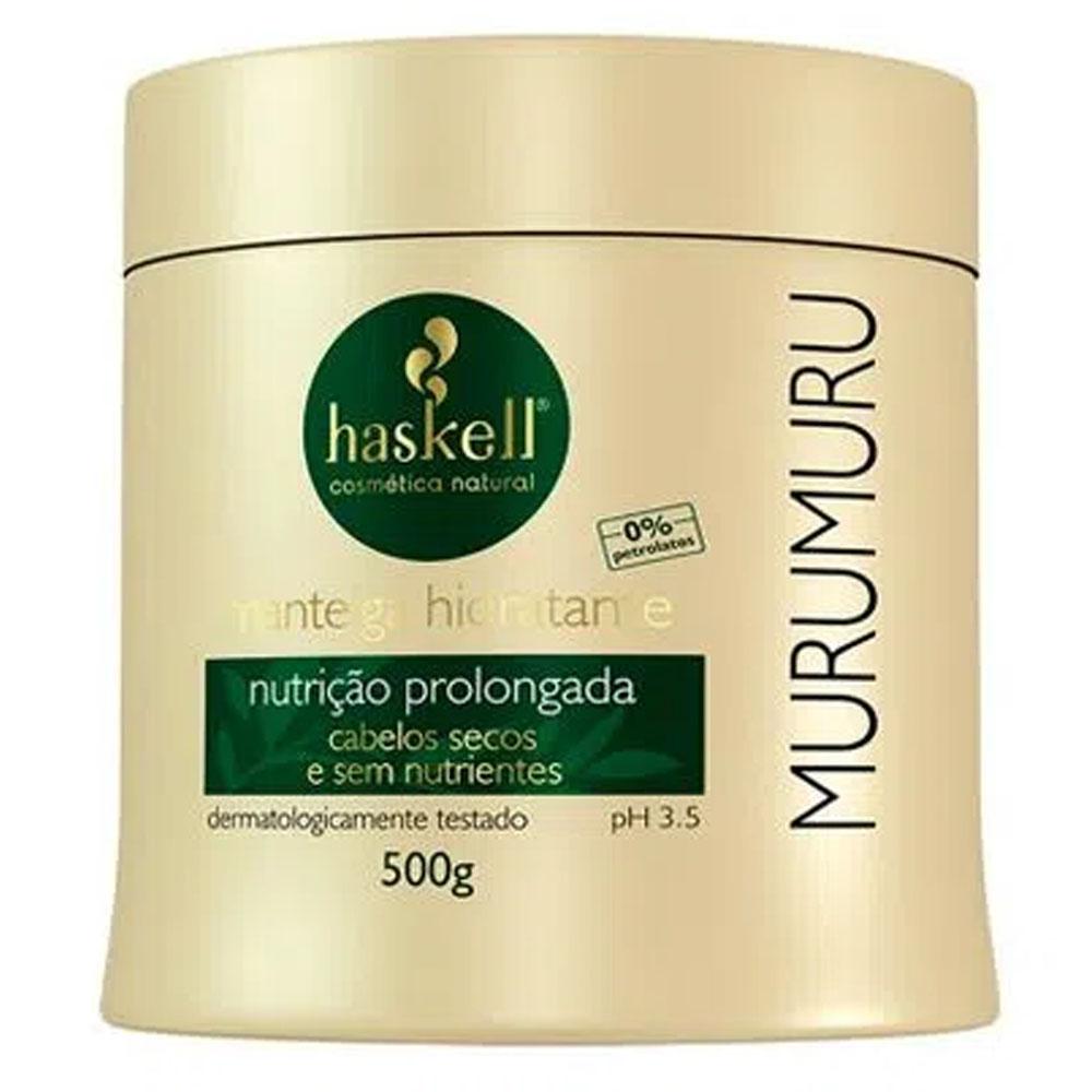 Mascara Manteiga Hidratante Murumuru 500g - Haskell