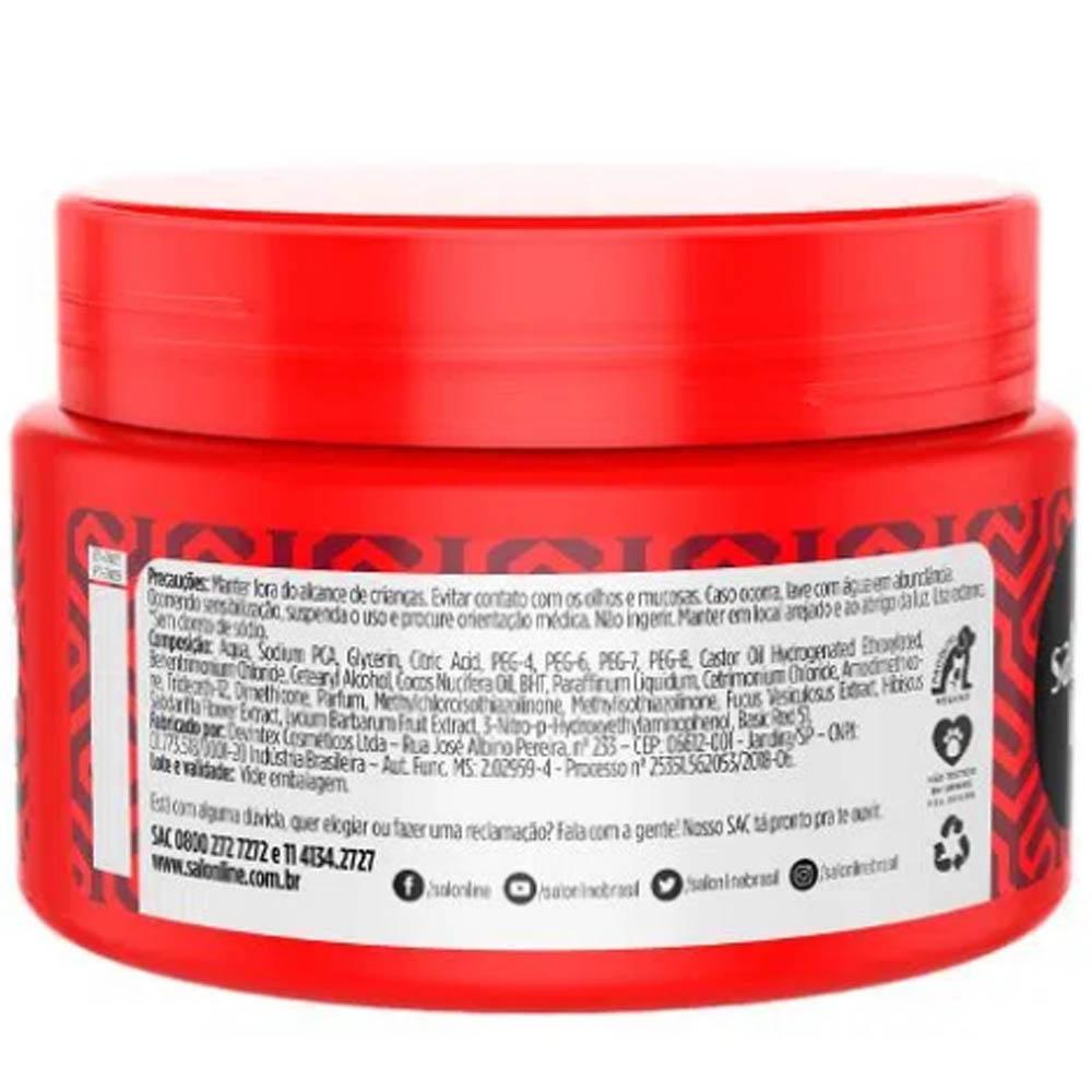 Mascara Matizadora Vermelha 300g - Salon Line