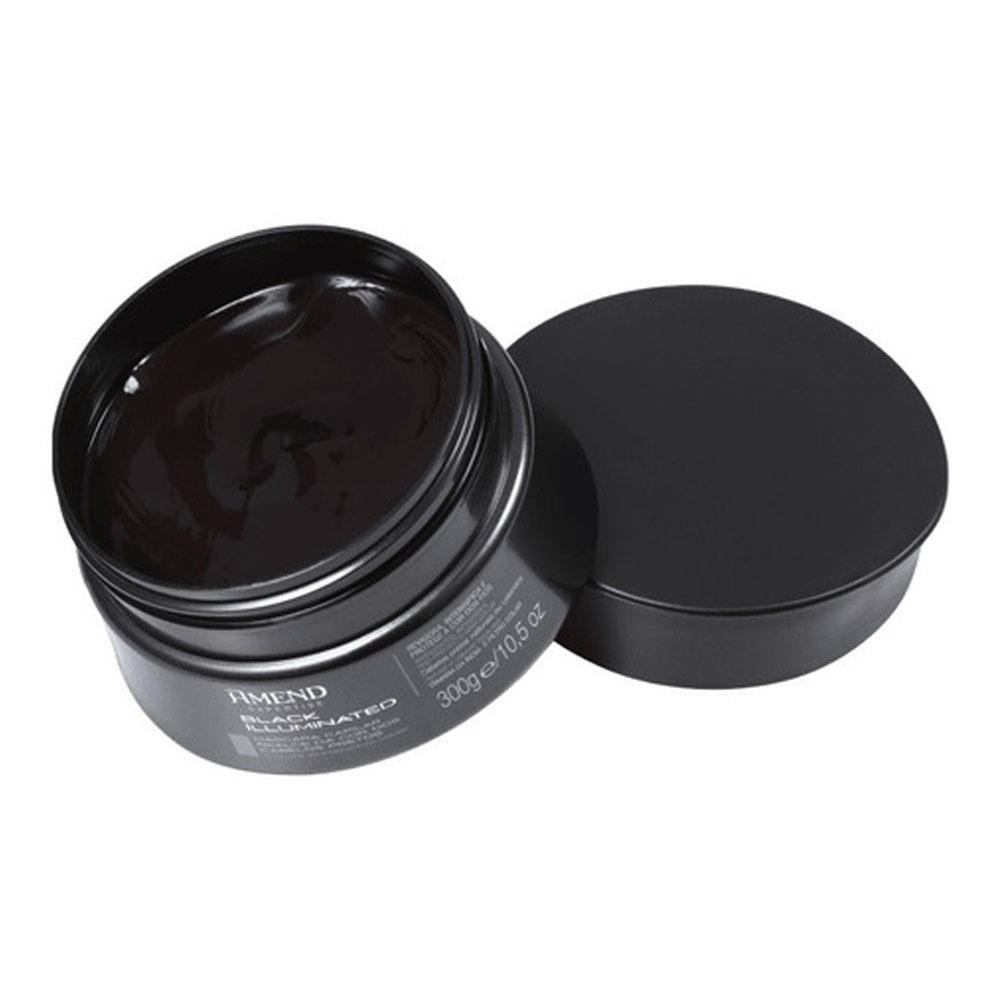 Mascara Realce da Cor Preto Expertise 300g - Amend