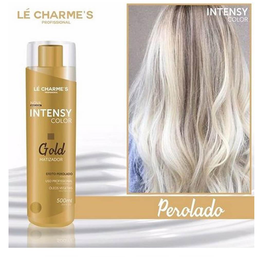 Matizador Perolado Gold Color Blond 500ml - Le Chames