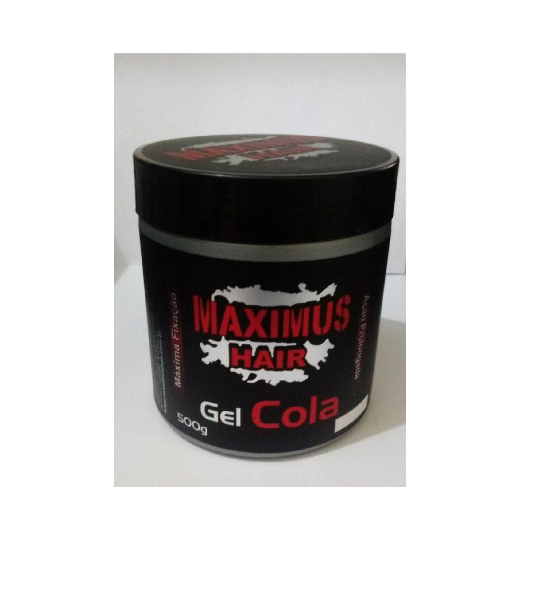MAXIMUS HAIR GEL COLA 500G