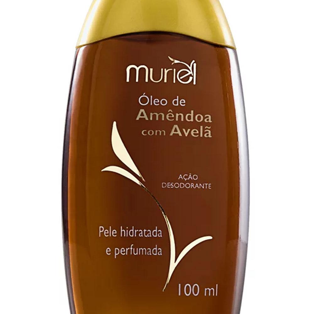 Óleo Corporal Amendoa com Avelã 100ml - Muriel