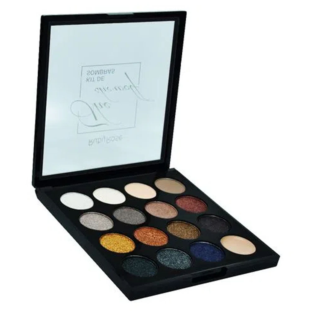 Paleta com 15 Sombras The She-Wolf - Ruby Rose
