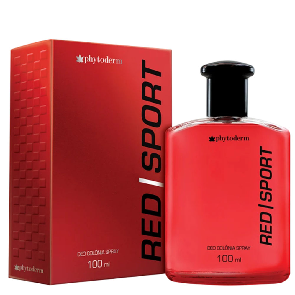 Perfume Colonia Masculina Deo Col Phyto Red Sport 100ml - Phytoderm
