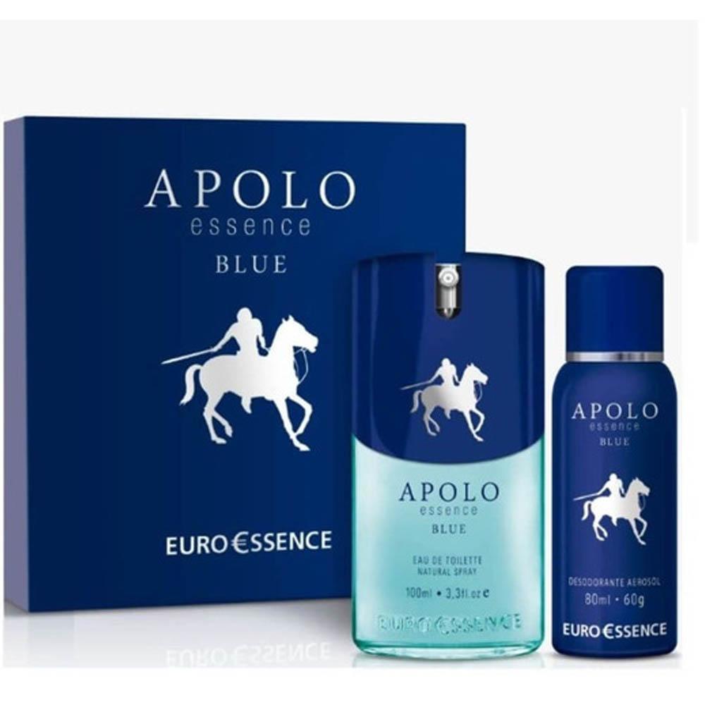Perfume Masculino Euroessence Essence Blue 100ml - Apolo