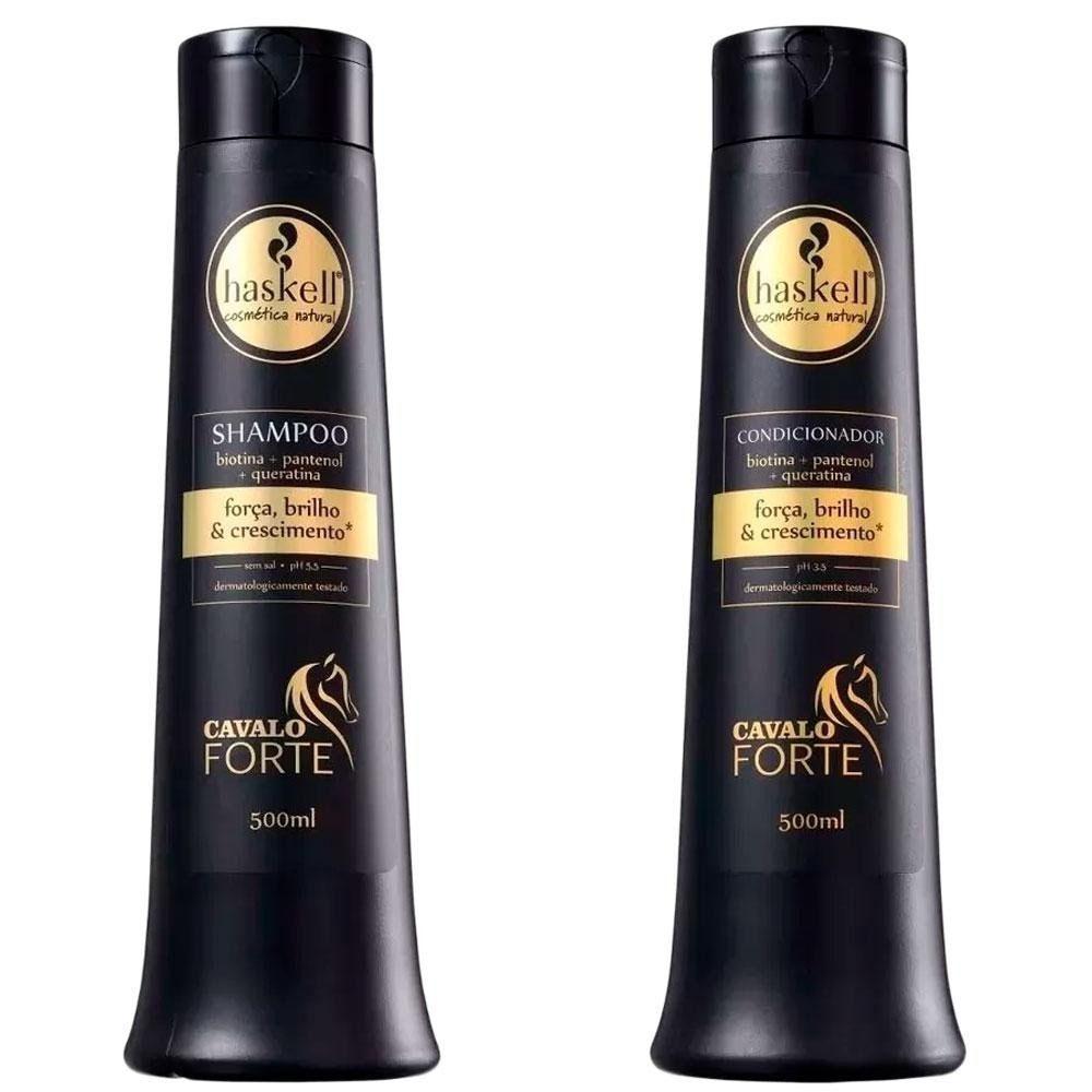 Promopack Shampoo e Condicionador Cavalo Forte 500Ml - Haskell