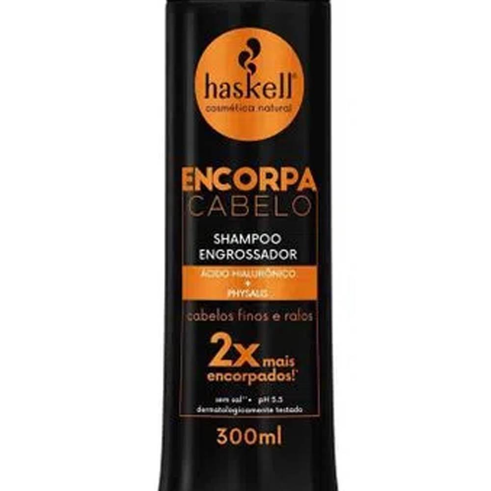 Shampoo Encorpa Cabelo 300ml - Haskell