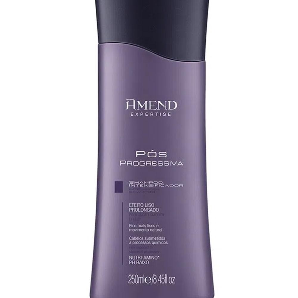 Shampoo Intensificador Pos Progressiva Expertise 250ml - Amend