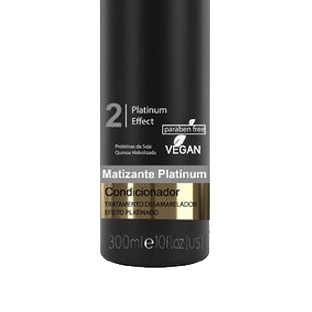 Shampoo Matizante Platinum 300ml - Encantos da Natureza