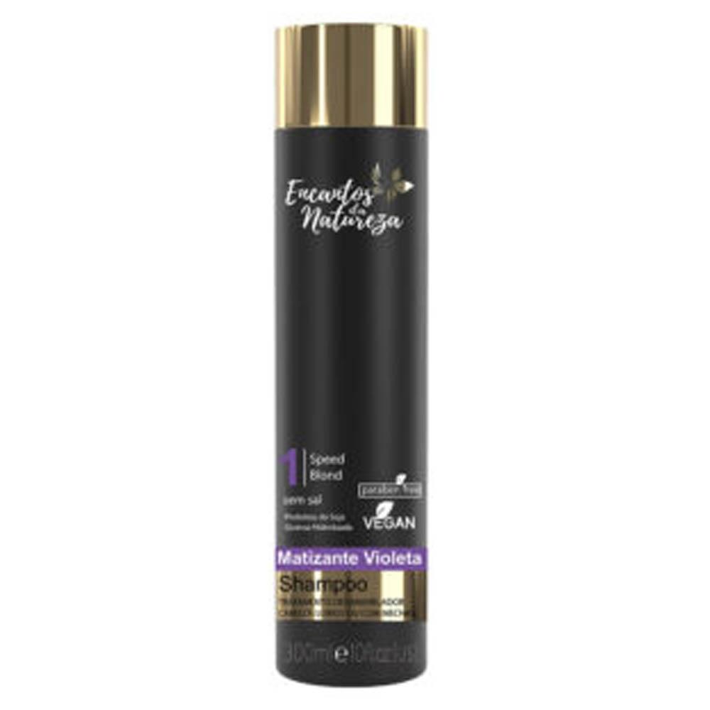 Shampoo Matizante Violeta 300ml - Encantos da Natureza