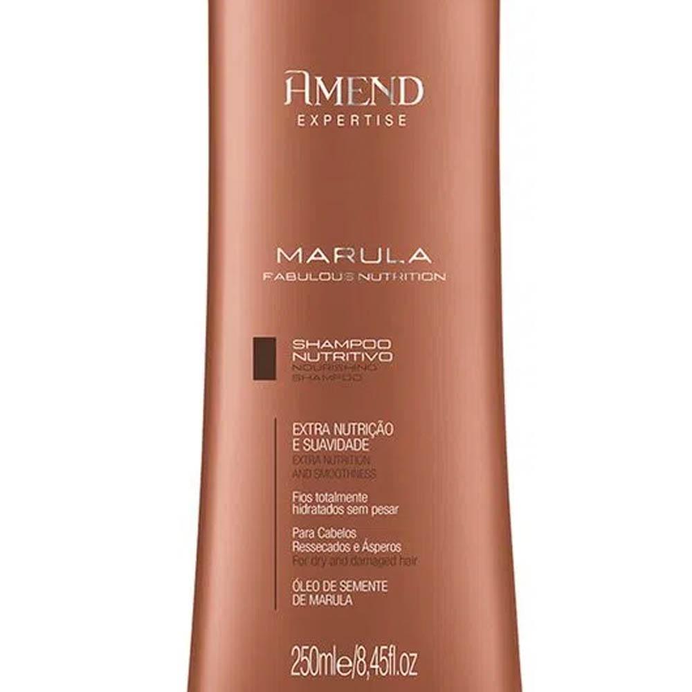 Shampoo Nutritivo Marula Fabulous Nutrition 250ml - Amend