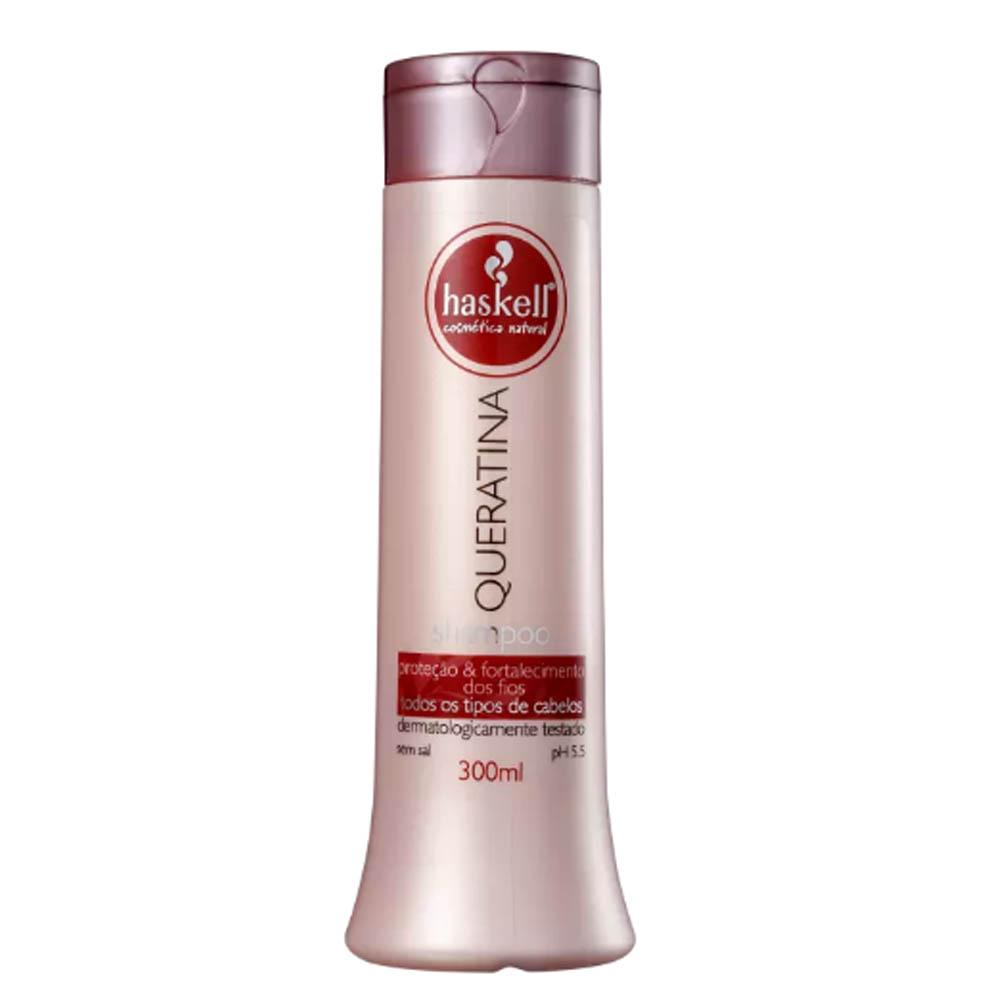 Shampoo Queratina 300ml - Haskell