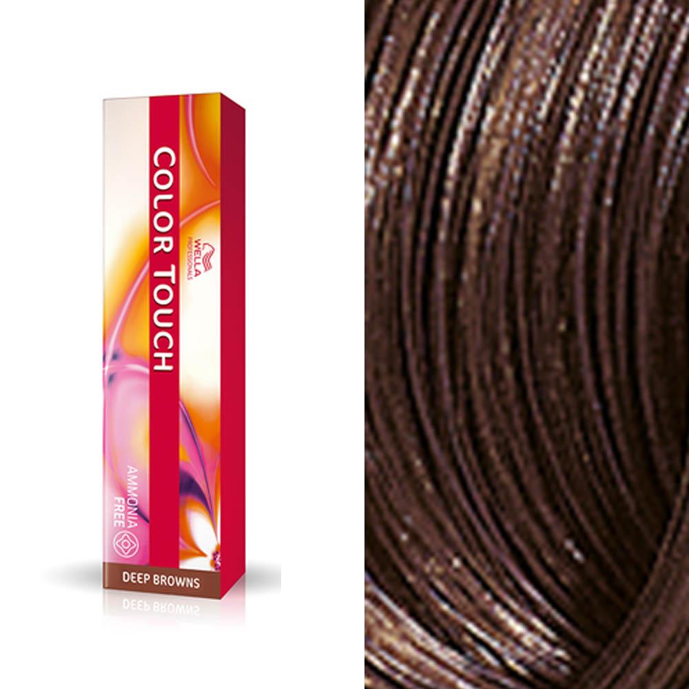 Tonalizante 6.7 louro escuro marron - Color Touch