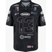 Camisa MASCULINA EDIÇÃO ESPECIAL 3 ANOS Galo FA Jersey Plus c/ Patrocinadores