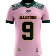 Camisa INFANTIL Alligators Football Tryout Outubro Rosa